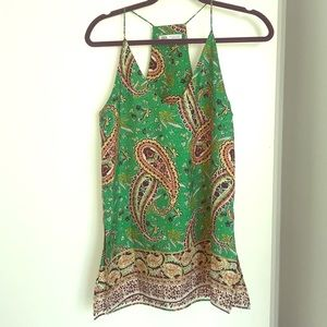 Fun paisley blouse! WORN ONCE